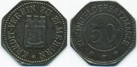 Schleswig/Holstein 50 Pfennig Elmshorn - Eisen ohne Jahr (Funck 115.6)