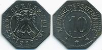 Bayern 10 Pfennig Germersheim - Eisen 1917 (Funck 157.5Ad)