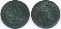 Sachsen/Altenburg 50 Pfennig Gössnitz - Zink 1918 (Funck 164.3a)