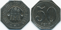 50 Pfennig 1918 Brandenburg Guben - Eisen 1918 (Funck 178.3b) sehr schö... 28,00 EUR  +  6,50 EUR shipping