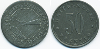 50 Pfennig 1918 Bayern Hauzenberg - Zink 1918 (Funck 198.4) Riffelrand ... 69,00 EUR  +  6,50 EUR shipping
