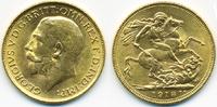 Sovereign 1918 I Indien - India George V. 1910-1936 prägefrisch  420,00 EUR  +  20,00 EUR shipping