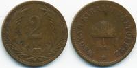 2 Filler 1894 KB Ungarn - Hungary Franz Josef I. 1848-1916 schön/sehr s... 0,60 EUR  +  2,00 EUR shipping