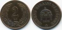 2 Filler 1895 KB Ungarn - Hungary Franz Josef I. 1848-1916 sehr schön+ ... 1,00 EUR  +  2,00 EUR shipping