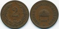 2 Filler 1897 KB Ungarn - Hungary Franz Josef I. 1848-1916 sehr schön -... 0,70 EUR  +  2,00 EUR shipping