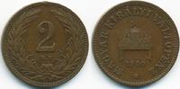 2 Filler 1909 KB Ungarn - Hungary Franz Josef I. 1848-1916 sehr schön -... 0,70 EUR  +  2,00 EUR shipping