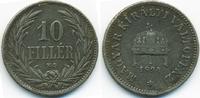 10 Filler 1894 KB Ungarn - Hungary Franz Josef I. 1848-1916 sehr schön ... 0,70 EUR  zzgl. 1,20 EUR Versand