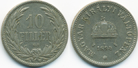 10 Filler 1894 KB Ungarn - Hungary Franz Josef I. 1848-1916 sehr schön  0,80 EUR  zzgl. 1,20 EUR Versand