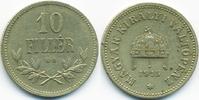 10 Filler 1915 KB Ungarn - Hungary Franz Josef I. 1848-1916 sehr schön+  0,70 EUR  zzgl. 1,20 EUR Versand