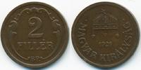 2 Filler 1926 BP Ungarn - Hungary Regierung Horthy 1920-1944 sehr schön... 1,00 EUR  +  2,00 EUR shipping
