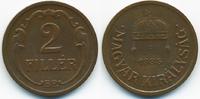 2 Filler 1935 BP Ungarn - Hungary Regierung Horthy 1920-1944 gutes sehr... 0,70 EUR  zzgl. 1,20 EUR Versand