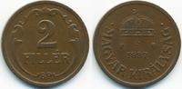 2 Filler 1937 BP Ungarn - Hungary Regierung Horthy 1920-1944 sehr schön... 0,70 EUR  +  2,00 EUR shipping