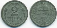 2 Filler 1943 BP Ungarn - Hungary Regierung Horthy 1920-1944 vorzüglich... 0,80 EUR  +  2,00 EUR shipping