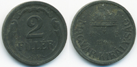 2 Filler 1944 BP Ungarn - Hungary Regierung Horthy 1920-1944 sehr schön... 0,70 EUR  +  2,00 EUR shipping