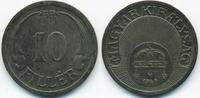 10 Filler 1940 BP Ungarn - Hungary Regierung Horthy 1920-1944 fast vorz... 1,00 EUR  +  2,00 EUR shipping