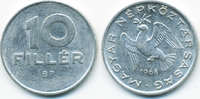 10 Filler 1968 BP Ungarn - Hungary Volksrepublik 1949-1989 gutes sehr s... 1,50 EUR  zzgl. 1,20 EUR Versand