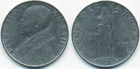 100 Lire 1956 Vatikan - Vatican Pius XII. sehr schön  1,50 EUR  +  2,00 EUR shipping