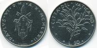 50 Lire 1972 Vatikan - Vatican Paul VI. fast prägefrisch  1,50 EUR  +  2,00 EUR shipping