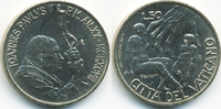 50 Lire 1998 Vatikan - Vatican Johannes Paul II. vorzüglich/prägefrisch  4,00 EUR  +  2,00 EUR shipping
