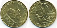 200 Lire 1998 Vatikan - Vatican Johannes Paul II. prägefrisch  4,00 EUR  +  2,00 EUR shipping