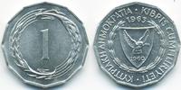 1 Mil 1963 Zypern - Cyprus Republik 1960-2001 prägefrisch  0,80 EUR  +  2,00 EUR shipping