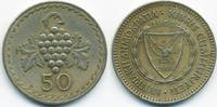 50 Mils 1963 Zypern - Cyprus Republik 1960-2001 sehr schön+  0,80 EUR  +  2,00 EUR shipping