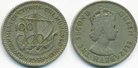 100 Mils 1955 Zypern - Cyprus Republik 1960-2001 sehr schön - winziger ... 1,50 EUR  +  2,00 EUR shipping