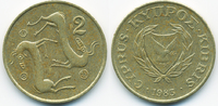 2 Cents 1983 Zypern - Cyprus Republik 1960-2001 vorzüglich - minimal fl... 0,40 EUR  +  2,00 EUR shipping