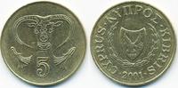 5 Cents 2001 Zypern - Cyprus Republik 1960-2001 vorzüglich - minimal fl... 0,40 EUR  +  2,00 EUR shipping