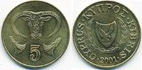 5 Cents 2001 Zypern - Cyprus Republik 1960-2001 prägefrisch - minimal f... 0,60 EUR  +  2,00 EUR shipping