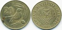 20 Cents 1985 Zypern - Cyprus Republik 1960-2001 sehr schön+ - minimal ... 1,00 EUR  +  2,00 EUR shipping