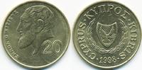 20 Cents 1998 Zypern - Cyprus Republik 1960-2001 vorzüglich  1,00 EUR  +  2,00 EUR shipping