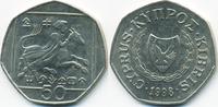 50 Cents 1998 Zypern - Cyprus Republik 1960-2001 sehr schön/vorzüglich  2,00 EUR  +  2,00 EUR shipping