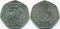 50 Cents 2002 Zypern - Cyprus Republik 1960-2001 fast prägefrisch  3,00 EUR  +  2,00 EUR shipping