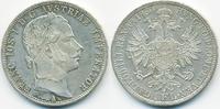 1 Gulden (Florin) 1860 A Haus Habsburg Franz Joseph I. 1848-1916 vorzüg... 20,00 EUR  +  6,50 EUR shipping