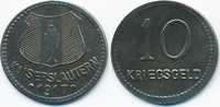 10 Pfennig 1917 Pfalz Kaiserslautern - Eisen 1917 (Funck 231.4a) sehr s... 6,00 EUR  +  2,00 EUR shipping