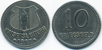 10 Pfennig 1917 Pfalz Kaiserslautern - Eisen 1917 (Funck 231.4b) sehr s... 6,00 EUR  +  2,00 EUR shipping