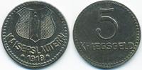 5 Pfennig 1918 Pfalz Kaiserslautern – Eisen 1918 (Funck 231.6k) sehr sc... 7,00 EUR  +  2,00 EUR shipping