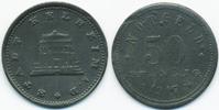 50 Pfennig 1917 Bayern Kelheim - Zink 1917 (Funck 237.6) Rand glatt vor... 80,00 EUR  +  6,50 EUR shipping