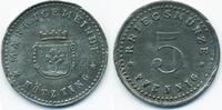 5 Pfennig ohne Jahr Bayern Kötzting - Zink ohne Jahr (Funck 253.1b) Ran... 17,00 EUR  +  2,00 EUR shipping