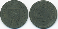 20 Pfennig 1918 Posen Koschmin - Zink 1918 (Funck 258.2a) Originalprägu... 55,00 EUR  +  6,50 EUR shipping
