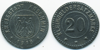 20 Pfennig 1918 Posen Koschmin - Zink 1918 (Funck 258.2b) Röttinger vor... 39,00 EUR  +  6,50 EUR shipping