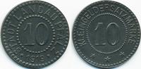 10 Pfennig 1919 Pfalz Landau - Zink 1919 (Funck 266.7) fast prägefrisch  3,00 EUR  +  2,00 EUR shipping