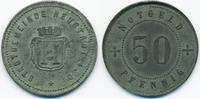 Bayern 50 Pfennig Neustadt a. Donau - Zink ohne Jahr (Funck 373.4A) Rand geriffelt