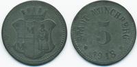 Bayern 5 Pfennig Münchberg - Zink 1918 (Funck 346.2)