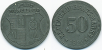 Bayern 50 Pfennig Münchberg - Zink 1920 (Funck 346.9)