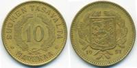 Finnland - Finland 10 Markkaa Republik seit 1917