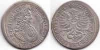 Schlesien-Württemberg-Oels 6 VI Kreuzer Carl Friedrich 1704-1744