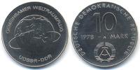 DDR 10 Mark Weltraumflug - Kupfer/Nickel