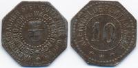 Hessen/Nassau - Schlierbach 10 Pfennig Wächtersbacher Steingutfabrik G.m.b.H (H.833.1.7)